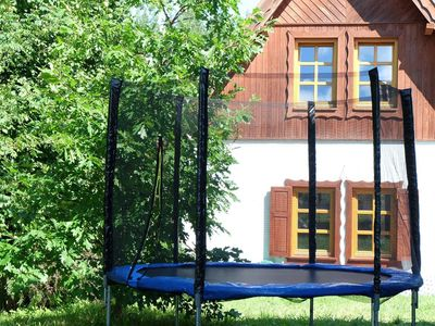 Photo for Masurian settlement - house for 6 people 800 m from the lake - 2 bedrooms