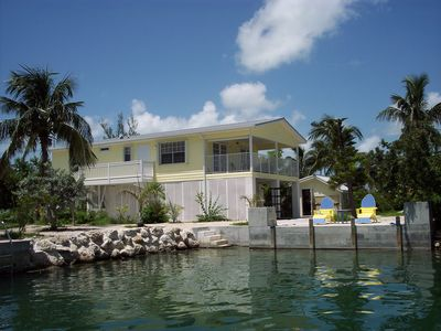 Photo for The Banana Cabana, Canal Front Home Sugarloaf Key Mm 17