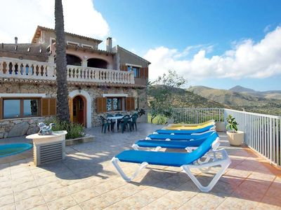 Photo for This 5-bedroom villa for up to 10 guests is located in Cala Torta and has a private swimming pool an