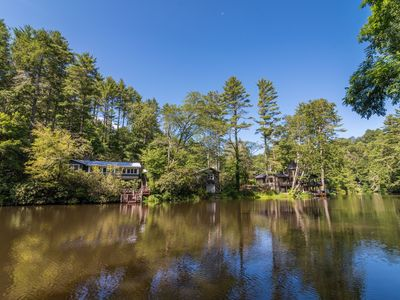 Photo for New! Charming Cottage On Mirror Lake