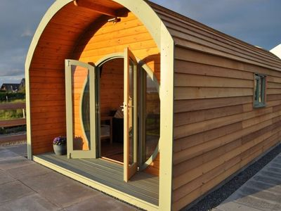 Photo for Hebrides Bothy luxury glamping pod near Stornoway