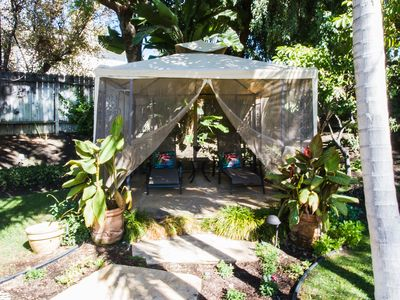uspa gardenu with gated trellis mature fruit trees with garden igloo occasion. Black Bedroom Furniture Sets. Home Design Ideas