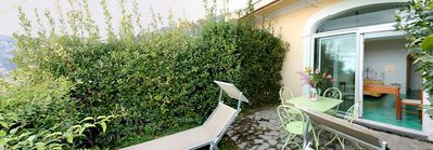 Photo for Casa Ilnira D: A bright and sunny apartment in a quiet position, located on a hillside above the sea, with Free WI-FI.