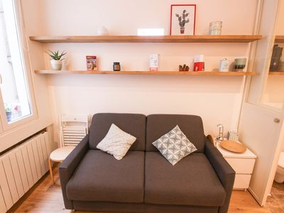 Photo for CHARMING STUDIO IN CHATELET IN PARIS FOR 2 PEOPLE