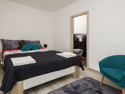 Photo for Šakić Hostel - Queen Bed with Private Bathroom and Balcony View