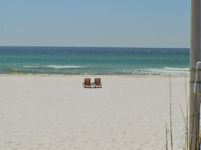 Photo for Comfortable 2 bedroom Condo with Beach Views and Pool!