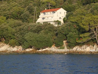 Photo for Apartment in Ubli (Lastovo), capacity 2+2