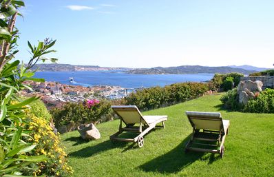 Photo for Elegant villa with fantastic panoramic sea views and views over Palau