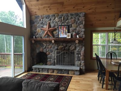 Photo for Private 4-bedroom chalet w/ WiFi! - short drive to Holiday Valley!