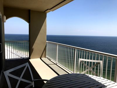 Great Views of the Beach and Gulf from Newly Designed Balcony (Looking East)