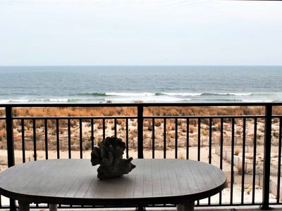 Photo for Traditional 1 Bedroom Oceanfront Condo with WiFi, an Outdoor Pool, and a Mind-Boggling View Located in Midtown and Only Steps to Beach!