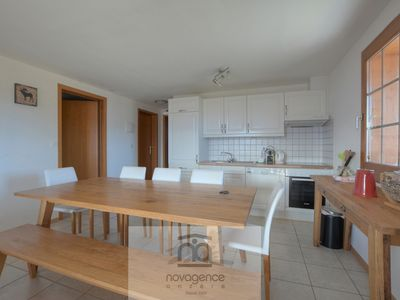 Photo for Very nice and spacious apartment with big balcony offering you a magnificent view on the valley of t