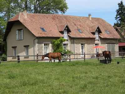 Photo for in the middle of the horses, superb farmhouse of character - 14 pers. - 7 chbres