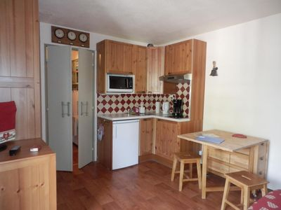 Photo for beautiful studio in the heart of the two alps. Chair lift 200m from the studio