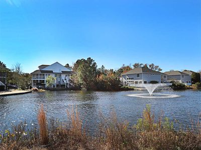 Photo for 5333U: Lake views from this Sea Colony West condo! Beach, pools, tennis ...