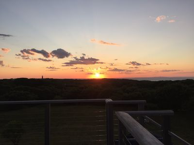 Photo for Views Views Views!! Sunsets!! Historic Martha's Vineyard Gem & Large Roof Deck!!