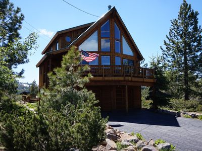 Photo for Tahoe/ Truckee Mountain Top Chalet with 360 views = The Lyons Den...Tahoe Donner