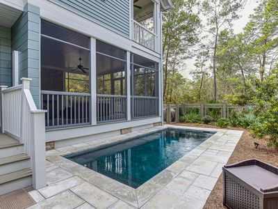 Photo for Gorgeous Watercolor Home- Private Pool & Golf Cart, Mins To Beach! 'Affinity'
