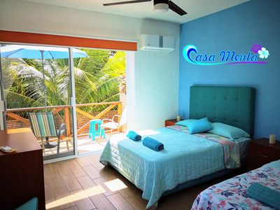 Photo for CASA MENTA - Room Maldives | Only a few steps to the Playa Zicatela