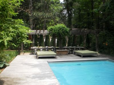Harbor Country Cottage, Private Built-in Pool, Beach Access, Full Acre Lot!