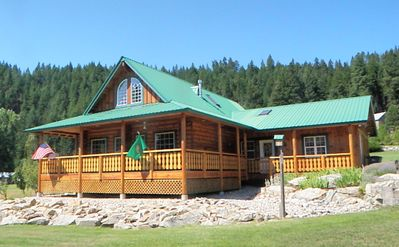 Photo for Beautiful and Spacious Log Home With River Access and Quiet Setting