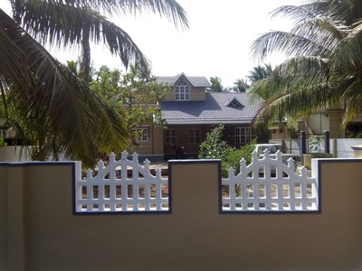 Photo for Spacious 3 BHK Villa- 2 Kms from serene Beaches