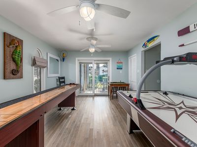 Photo for Channel Buoy Retreat - Unique Waterfront Home, Game Room, 1.5 Blocks to Beach!