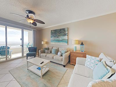 Photo for Newly Updated Beachfront Condo. Private Balcony with Stunning Views. Indoor and