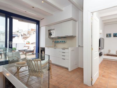 Photo for Boutique house in prime location in the heart of Sitges next to the beach