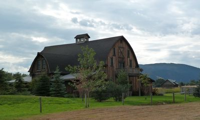Barn from the Northwest