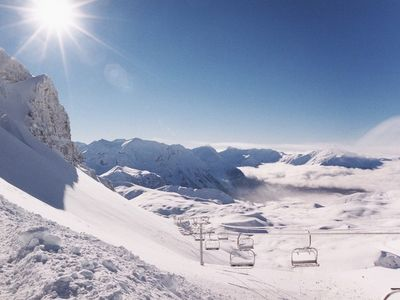 Photo for Maxi studio 5 pers PMR Residence Sun balconies in Orcières Merlette - Southern Alps