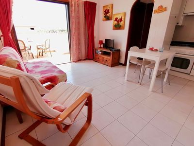 Photo for Penthouse Moon:  sunny all day long, walking distance from Las Vistas beach