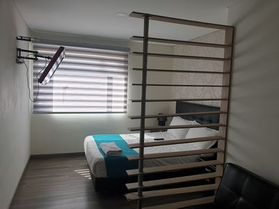 Photo for Nice apartment close airport , Corferias Bussines center, American embassy