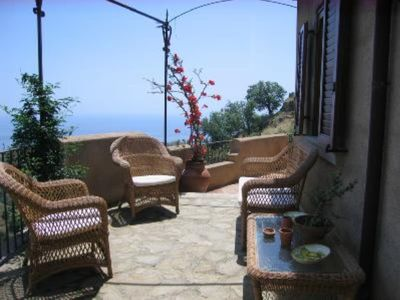 Photo for Savoca: Villa Savoca - characteristic house, stunning view, next to Taormina and Etna