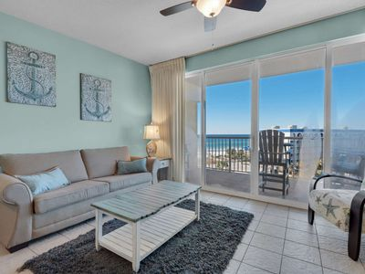 Photo for Gulf Front unit with relaxing Lazy River! No hurricane damage.  Must be 25 to sign agreement