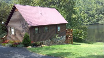 Photo for Cottage on a lake in the Blue Ridge Mountains of Virginia