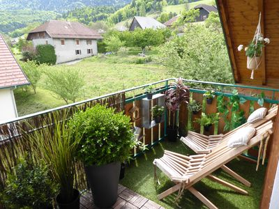 Photo for APARTMENT CLOSE TO NATURE IN THE ALPS / Lake Annecy / Ski / pool / sauna