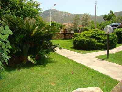 Photo for Villa with garden 150 meters from the beach with air conditioning
