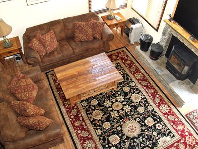 Photo for 1 Bedroom & Loft, Two Full Bathrooms, Sleeps 6, Two Levels to enjoy for your Mammoth Lakes Vacation
