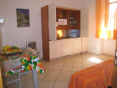 Photo for EOLIE Lipari Canneto Studio apartment 30 m from the beach