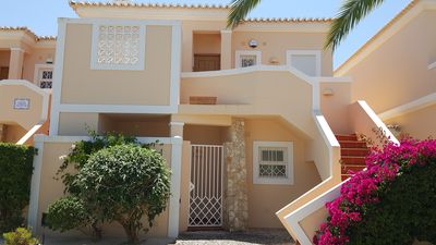 Photo for Delightful villa with sea views, free WIFI, TV & air con ideal for families