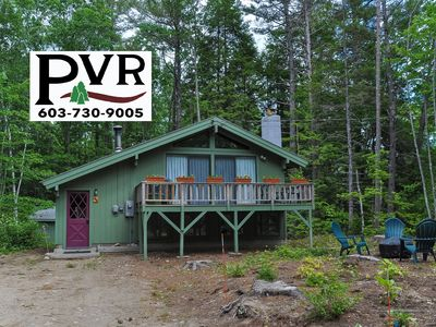 Photo for Cozy 3BR Chalet-5 Min to Storyland!  AC, Cable, WiFi, Fire Pit, Pets Welcome!
