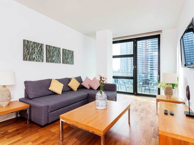 Photo for Riverfront Apartment in London near Museum of London