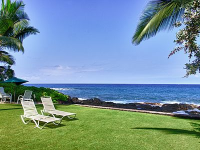 Photo for 2 bedroom, 2 bath upscale bungalow in an oceanfront estate