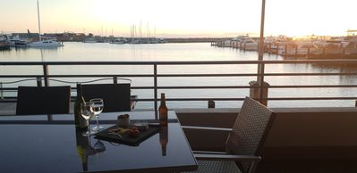 Photo for Stunning Marina Front Apartment
