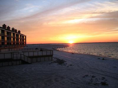 Photo for Pensacola Beach Condo-Beach on Three Sides-Rimmed by 7 Mile Park