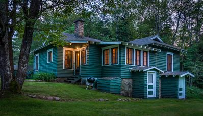 Photo for Stay At A Historic Gardeners Cottage at White Pine Great Camp