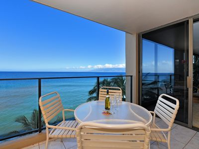 Photo for Stunning Views, Oceanfront Unit , Choice Location!! Mahana #814