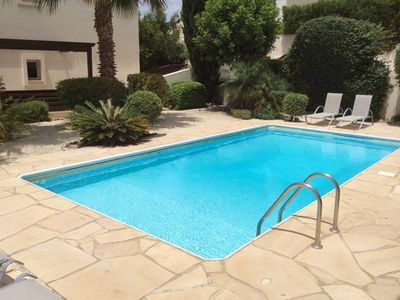 Photo for 3 Bed Holiday Villa in Peyia Paphos - Private Pool FREE Air Con & WIFI
