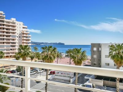 Photo for Apartment to 100m. to Levante Beach with 1 bedroom, pool and sea views